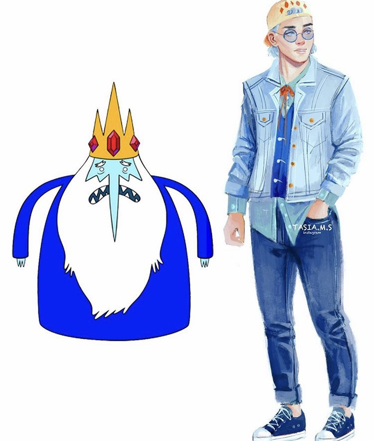 House of Akih Adventure Time The ice king