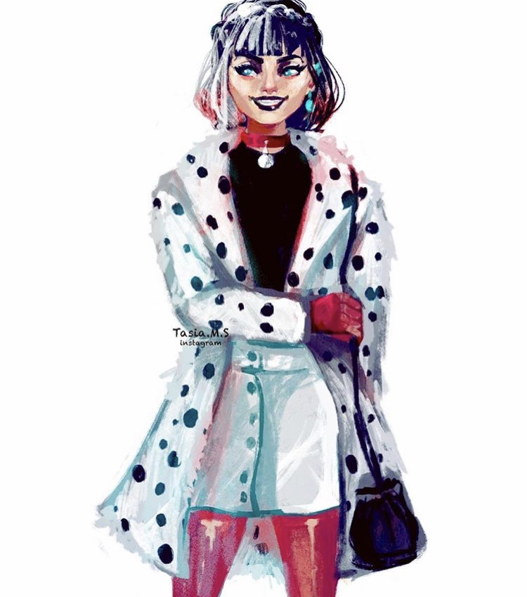 House of Akih Cruella Deville