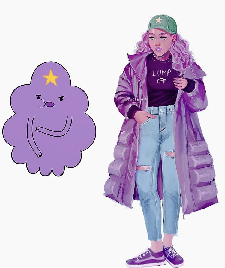 House of Akih Lumpy Space Princess