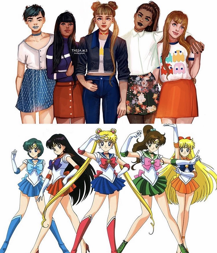 House of Akih Sailor Moon