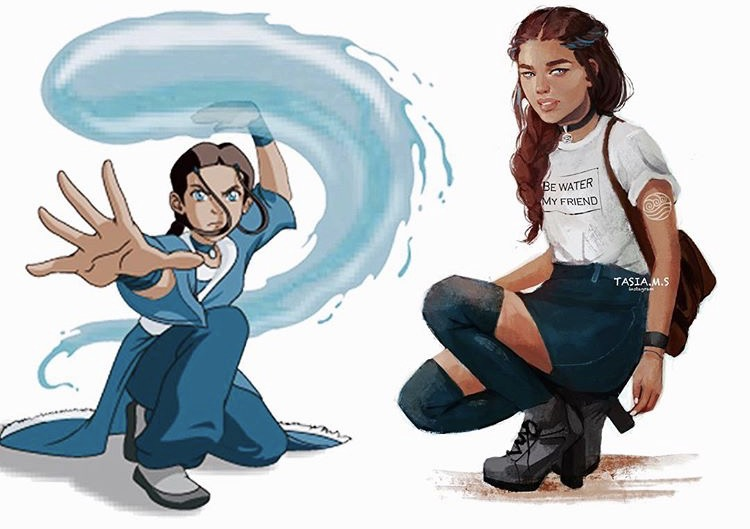 House of Akih The Last Airbender Katara