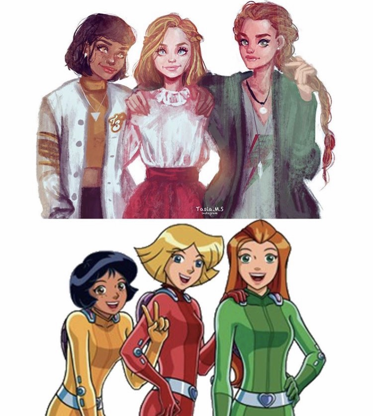 House of Akih Totally Spies